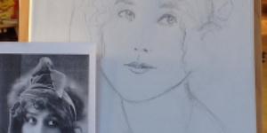 Entstehung eines Portraits
